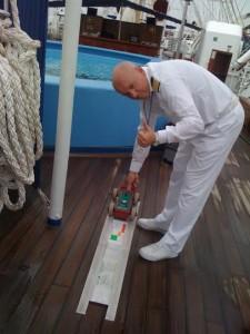star clipper testa la nave