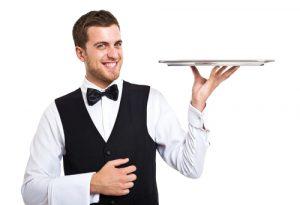 pavimento antiscivolo in cucina_cameriere