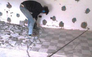 pavimento antiscivolo in cucina_piastrelle